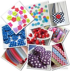 Love spotty stuff ?  We do !!!  Take a look at some of the spotty supplies we sell through our website www.bloomingfelt.co.uk
