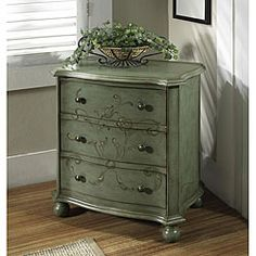 @Overstock - Enhance your home decor with an aqua blue accent chest  Living room furniture features a distressed aqua blue hand-painted finish  Furniture is constructed of hardwood and MDFhttp://www.overstock.com/Home-Garden/Hand-painted-Distressed-Aqua-Blue-Accent-Chest/4333073/product.html?CID=214117 $276.99