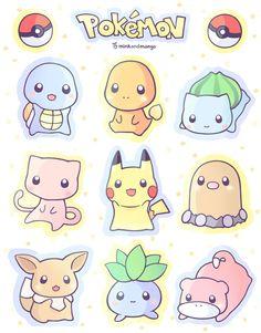 Pokemon Phone Charms by minkandmango on Etsy