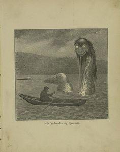 Theodor Kittelsen's illustrations for Per Gynt - 1891
