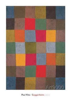 Paul Klee - New Harmony (Neue Harmonie), 1936