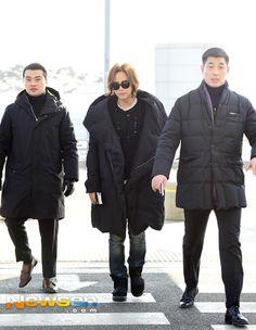 The Eels Family: [Media Photos - 2] Jang Keun Suk departs from Incheon for Fan meeting in Harbin China, 2016-01-25
