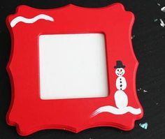 This Thumbprint Snowman Frame is one of the best Christmas gift ideas for mom.
