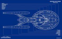 USS ENTERPRISE NCC-1701-E SOVEREIGN CLASS #ussenterprise #startrek
