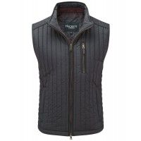 Hackett Men's Channel Quilt Gilet - Navy - Hackett London - Our Brands | Country Attire