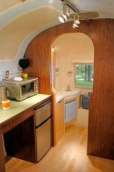 Able And Baker Design The Airstream Project 4 Challenging Open Floor Plan In Airstream Renovation Project