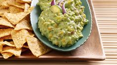 Easily give guacamole a taste twist with colorful additions like vacuum-packed whole kernel corn and sliced jalapenos.