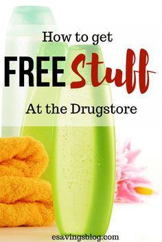 Get Free Stuff at your local drugstore following these step by step techniques. I love free stuff!