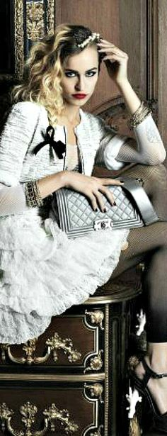 Chanel | The House of Beccaria - Looks like the 80's to me!