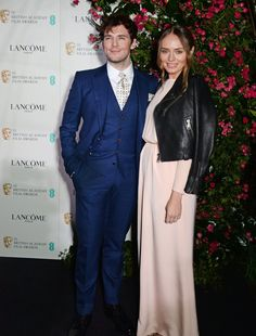 Pin for Later: Sam Claflin and Laura Haddock Hit the Red Carpet Together 2 Months After Becoming Parents