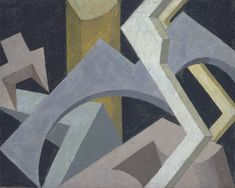 Jessica Dismorr - Abstract Composition (1915)