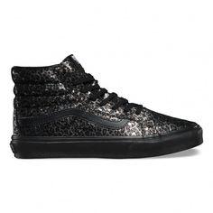 Vans Sk8 Hi MTE Slim Metallic Leopard Chaussures Baskets