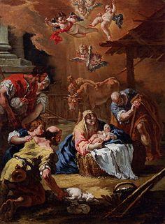Adoration of the Shepherds- Sebastiano Ricci