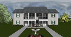 J0124-13-4 Rendering, 4plex plan