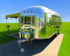 """Airstream Shine"" by Leah Giberson"