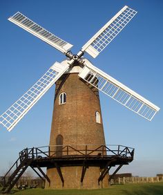In days gone by, windmills and watermills were common sights in the UK.