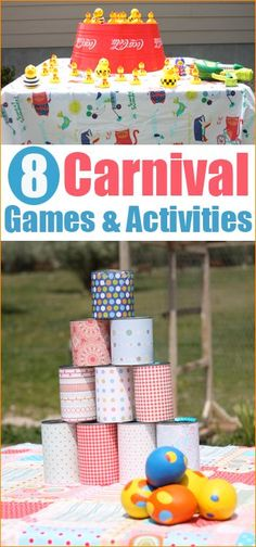 Carnival Party Games. Fun DIY carnival games and activities.