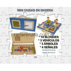 MINI CIUDAD - Madera ranarenata.com.ar