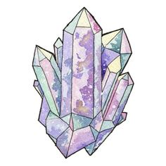 Painted this pastel crystal cluster for a speedpaint on my YouTube Channel. The video went live today and is at www.youtube.com/c/Myfairpixel if you want to watch it! ☺️ #art #artist #artistsoninstagram #artwork #illustration #illustrator #paint #painting #watercolor #watercolour #watercolorartist #watercolorillustration #inktober #cbloggers #newage #crystals #crystalcluster #witchy #witchcraft #pagan #magick #speedpaint #youtubeartist #pastel #cute #kawaii #space #nebula #outerspace #cosmos