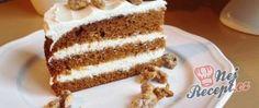 Dort z karamelizovaných banánů Vanilla Cake, Tiramisu, Ethnic Recipes, Food, Vanilla Sponge Cake, Meal, Essen, Hoods, Tiramisu Cake