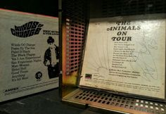 The Animals on Tour Audio Reel Tape