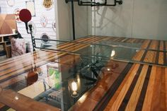 I found 'Steampunk Ping Pong Table' on Wish, check it out!