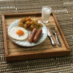 Breakfast Set by MiniatureAsianChef. Some people are soo talented, it is unbelievable!