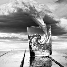 #glass#of#water#clouds