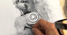 Charcoal Figure & Portrait Drawing Tutorial, Exercise, Demo by Steve Carpenter Step By Step Charcoal Drawing Tutorial, Figure Drawing Tutorial, Step By Step Sketches, Step By Step Drawing, Charcoal Portraits, Pastel Portraits, Pencil Sketch Drawing, Pencil Drawings, Fashion Illustration Tutorial