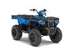 New 2017 Polaris Sportsman 570 Velocity Blue ATVs For Sale in Wisconsin.