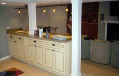 basement. love the cabinets