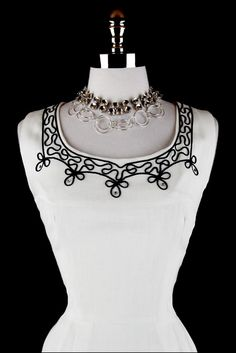 soutache this would look great to brighten black dress