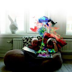 Imagination breeds imagination