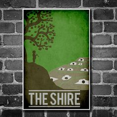 Lord of the Rings Travel Posters - www.geeksugar.com