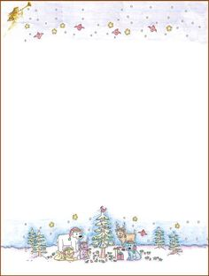 photograph regarding Free Printable Christmas Letterhead identify Xmas - stationery