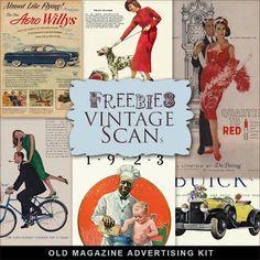 Freebies Old Magazine Advertising  Kit