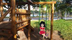 Curtindo uma tarde no parque