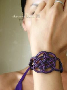 diy celtic knot bracelet