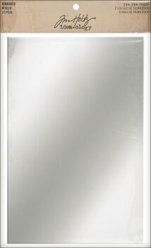 Tim Holtz - Idea-ology - Mirrored Sheets - Adhesive Backed Metal Mirror - Reflective Body Mirror, Metal Mirror, Online Craft Store, Craft Stores, Leaner Mirror, Plastic Sheets, Scrapbook Embellishments, Simon Says Stamp, First Aid