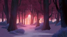 Cenários do seriado Samurai Jack Season V, por Chris Brock | THECAB - The Concept Art Blog