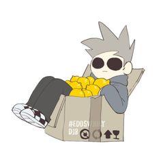 Read ( ͡° ʖ̫ ͡°) from the story Eddsworld Rysunki by SEvEN_TOM (Tommy~) with 663 reads. Eddsworld Memes, Funny Memes, Tomtord Comic, Banana Bus Squad, Eddsworld Comics, Cute Gay, Kawaii, Chibi, Pikachu