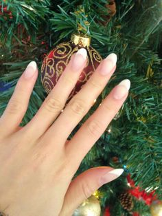 New French Acrylic Set - Sunday Beauty blog, Blanche Macdonald nail grad