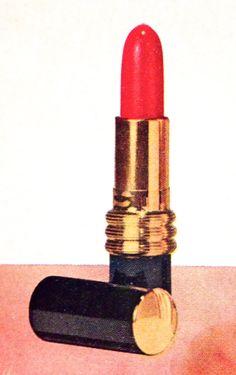 "Helena Rubinstein ""Bed Of Roses"" Lipstick, 1958"