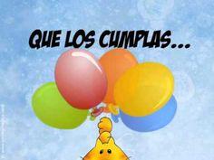 Tarjeta animada de Cumpleaños - YouTube Happy Birthday, Lily, Youtube, Erika, Pickup Lines, Happy Bday Wishes, Happy Birthday Text Message, Birthday E Cards, Birthday Cards For Kids