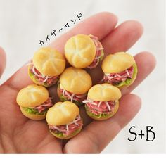 2017. 10 Miniature Bread ♡ ♡ By Sacchi
