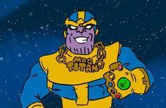 Freunde, The Infinity Gauntlet ist wirklich eine der abgefahrendsten, absurdesten und dadurch auch lustigsten Geschichten, die Marvel jemals erzählt hat. Purer Abfuck, macht aber irre viel Spass und wer keine Lust hat mal ein paar Seiten Comics zu lesen, dem sei diese ebenso lustige Zusammenfassung ans Herz gelegt