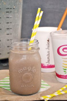 Delicious peanut butter smoothies are perfect for breakfast. Or lunch. Or dessert!