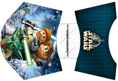 Envelope Fritas Lego Star Wars: