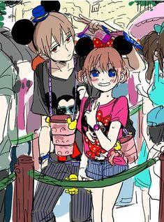 Okita Sougo х Kagura / Сого х Кагура   Gintama Cute Romance, Okikagu, Cute Anime Couples, Anime Love, Samurai, Chibi, Anime Art, Fan Art, Animation