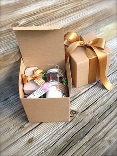 Spa Holiday Gift Set BrownSugar Fig Bath Set Soap by NatureEscapes
